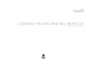 Certainly the machine will wear out